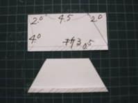烏帽子 型紙
